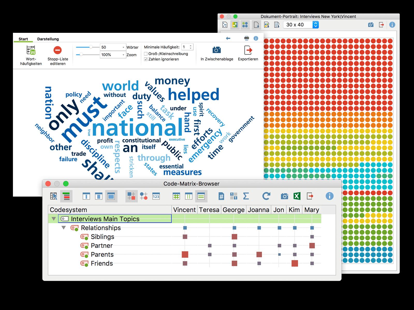 MAXQDA - tutti i tuoi dati in un posto solo