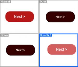 Stato dei pulsanti personalizzabile
