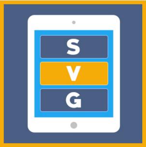 Rendering SVG di forme e pulsanti