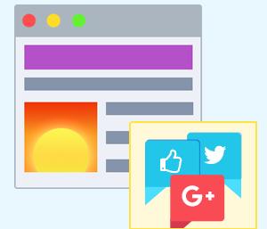Oggetti Web e Social